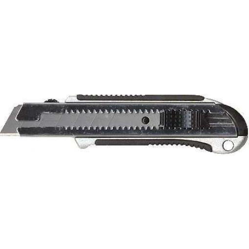 """Nůž lámací 18mm kovový s výztuhou """"Profi"""""""