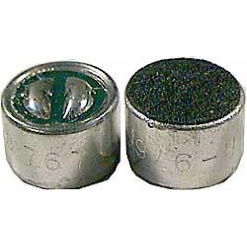 Mikrofon elektretový 9,7x6,7mm U=1,5-10V