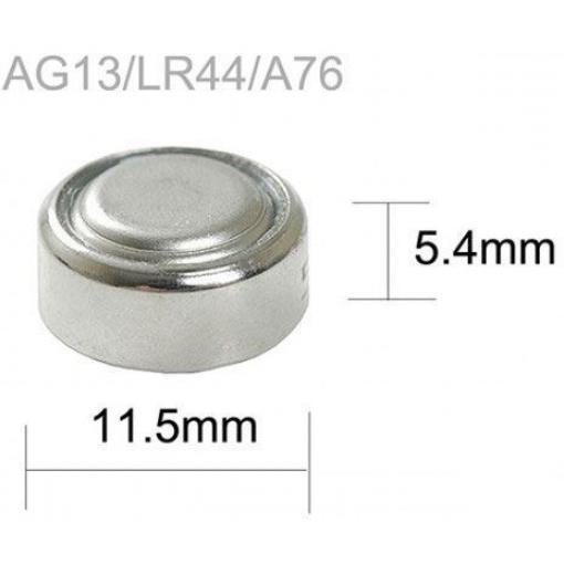 Baterie TINKO LR44 (AG13,357A,LR1154,GP357) alkalická