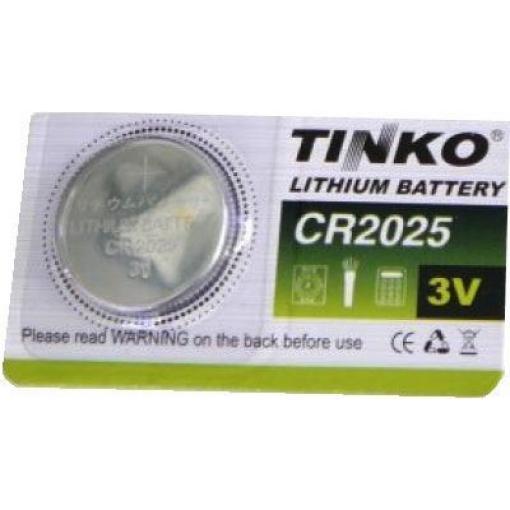 Baterie TINKO CR2025 3V lithiová