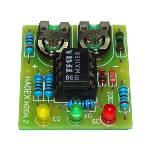 Kontrola zdrojové části auta-indikátor dobíjení STAVEBNICE