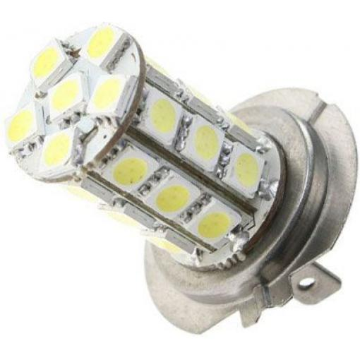 Žárovka LED H7 12V/5W, bílá, 27xSMD5050