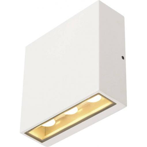 Venkovní nástěnné LED osvětlení SLV 232451, 8.8 W, N/A, bílá