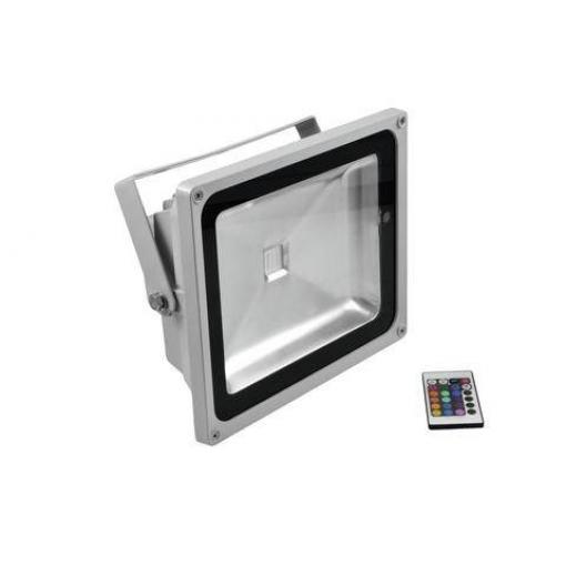 Outdoor LED spot Eurolite LED IP FL-50, 1 x 50 W