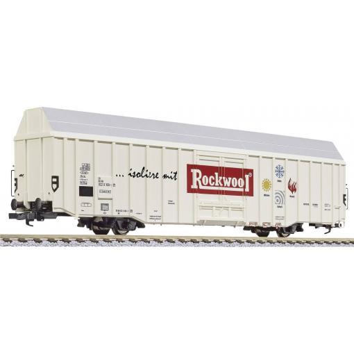 """Liliput L235802 H0 velkoobjemové nákladní vozy Hbks """"Rockwool"""" značky DB"""