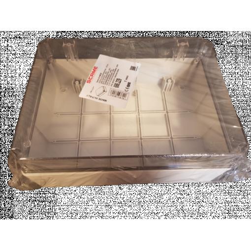 Krabice 686.229 Scame 686.229 SCABOX - průhledné víko