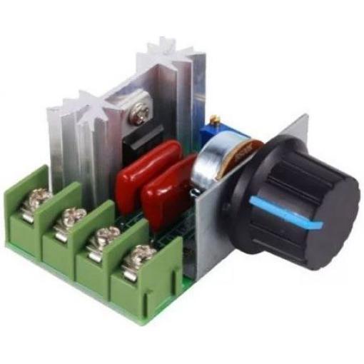 Tyristorový regulátor otáček pro komutátorové motory do 2000W