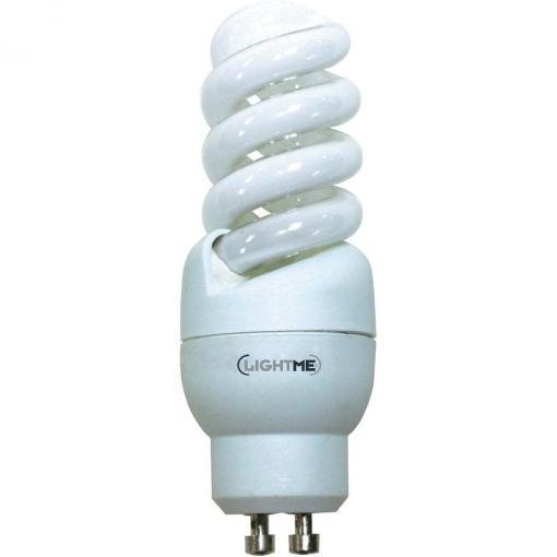 Úsporná žárovka spirálová Lightme Full Spiral GU10, 9 W