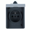 Instalační zásuvka nástěnná 5518-2929S IP44