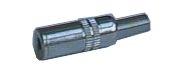 Zdířka 3.5 mono kabel kov