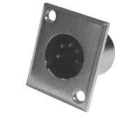 Konektor MIC panel kov 5PIN