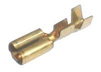 Zdířka faston neizolovaná 2.8mm 0.3-1mm