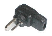 Konektor repro úhlový páj. černý