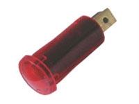 Kontrolka kulatá 12V DC červená
